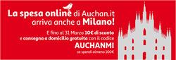 Offerte di Auchan nella volantino di Milano