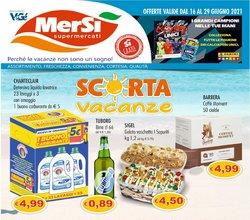 Offerte di MerSi Supermercati nella volantino di MerSi Supermercati ( Per altri 8 giorni)