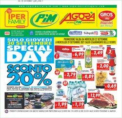 Offerte di Pim Supermercati nella volantino di Pim Supermercati ( Pubblicato ieri)