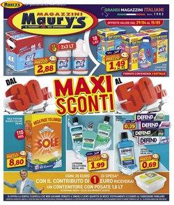 Offerte di saldi nella volantino di Maury's ( Per altri 9 giorni)
