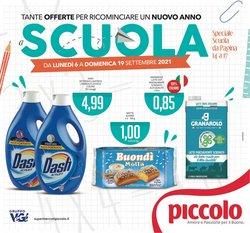 Offerte di Supermercati Piccolo nella volantino di Supermercati Piccolo ( Scade oggi)