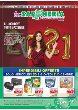 Catalogo La Saponeria a Vicenza ( Scaduto )