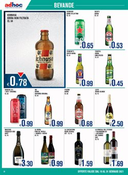 Offerte di Heineken a Adhoc