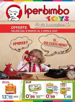 Offerte Infanzia e Giocattoli nella volantino di Iperbimbo a Napoli ( Per altri 25 giorni )