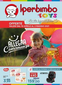 Offerte Infanzia e Giocattoli nella volantino di Iperbimbo a Milano ( Per altri 17 giorni )
