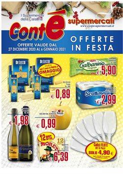Catalogo Conte Supermercati a Messina ( Scaduto )