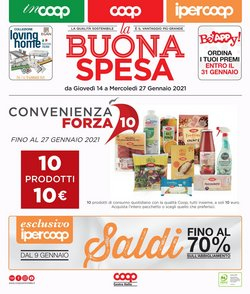 Offerte Iper Supermercati nella volantino di Ipercoop a Perugia ( Per altri 8 giorni )