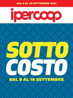 Offerte di Iper Supermercati nella volantino di Ipercoop ( Scade domani)