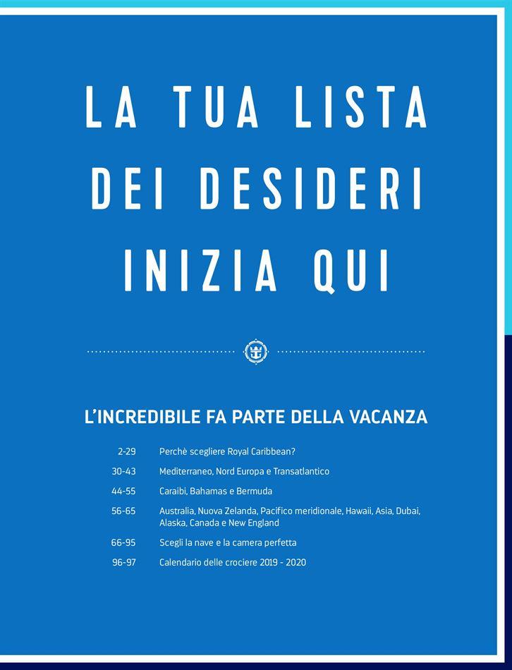 Calendario Crociere Cagliari 2020.Royal Caribbean A Cagliari Cataloghi E Offerte Settimanali