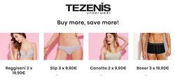 Offerte di Tezenis nella volantino di Cesena