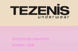 Offerte di Tezenis nella volantino di Roma