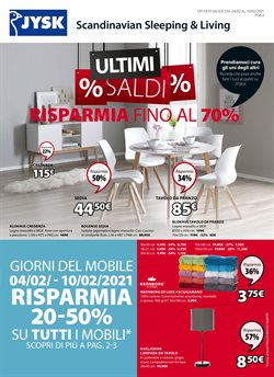 Catalogo JYSK a Roma ( Scaduto )