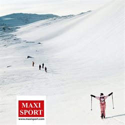 Offerte Sport nella volantino di Maxi Sport a Torino ( Più di un mese )