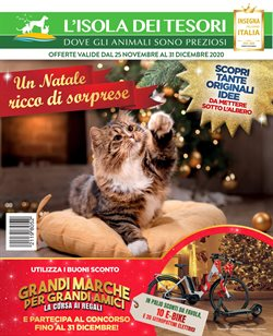Offerte Animali nella volantino di Isola dei Tesori a Tortona ( Più di un mese )