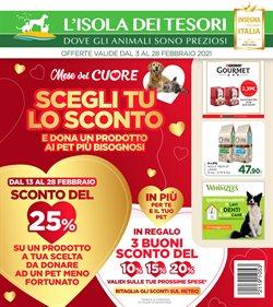 Offerte Animali nella volantino di Isola dei Tesori a Napoli ( Scade oggi )