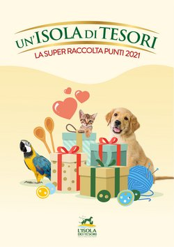 Offerte Animali nella volantino di Isola dei Tesori a Milano ( Più di un mese )