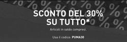 Coupon Puma a Legnano ( Scade oggi )