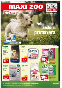 Offerte Svago e Tempo Libero nella volantino di Maxi Zoo a Firenze ( Per altri 6 giorni )