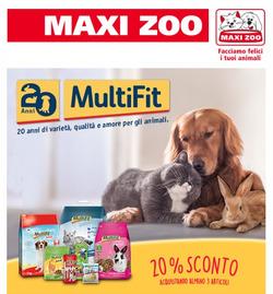 Offerte Svago e Tempo Libero nella volantino di Maxi Zoo a Pordenone