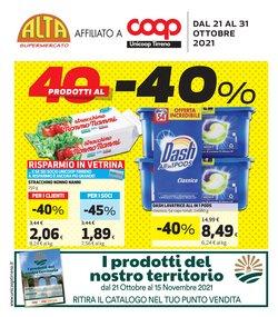 Offerte di Alta Supermercati nella volantino di Alta Supermercati ( Pubblicato ieri)