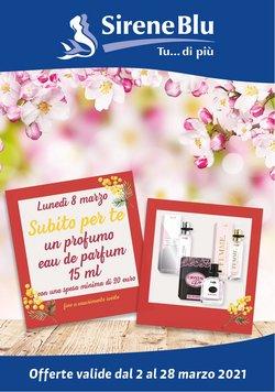 Offerte Profumeria e Bellezza nella volantino di Sirene Blu a Verona ( 3  gg pubblicati )