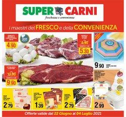 Offerte di Super Carni nella volantino di Super Carni ( Pubblicato oggi)