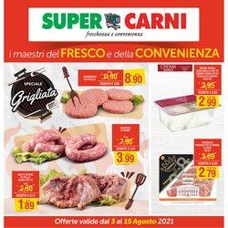 Offerte di Super Carni nella volantino di Super Carni ( Per altri 10 giorni)