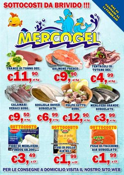 Offerte di Mercogel nella volantino di Mercogel ( Scaduto)