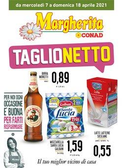 Offerte Iper Supermercati nella volantino di Conad Margherita a Trapani ( Per altri 3 giorni )