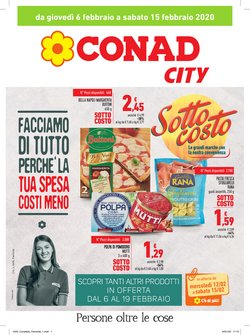 Catalogo Conad City a Gallarate ( Scade oggi )
