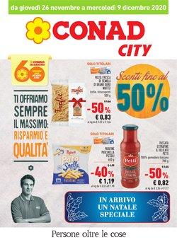 Catalogo Conad City a Cagliari ( Pubblicato ieri )