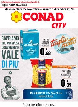 Offerte Iper Supermercati nella volantino di Conad City a Cerignola ( Pubblicato ieri )