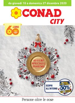 Catalogo Conad City a Torino ( Scaduto )
