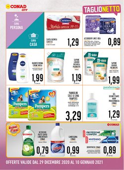 Offerte di Pampers a Conad City