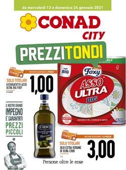 Offerte Iper Supermercati nella volantino di Conad City a Messina ( Per altri 3 giorni )