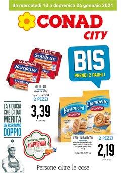 Offerte Iper Supermercati nella volantino di Conad City a Brolo ( Per altri 7 giorni )