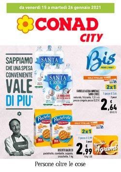 Offerte Iper Supermercati nella volantino di Conad City a Fabriano ( 3  gg pubblicati )