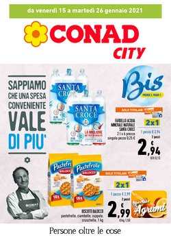 Offerte Iper Supermercati nella volantino di Conad City a Taranto ( Per altri 3 giorni )