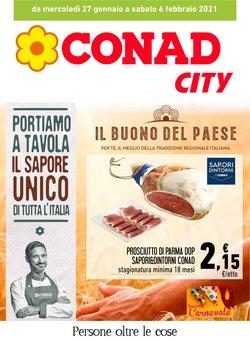 Offerte Iper Supermercati nella volantino di Conad City a Potenza ( Pubblicato ieri )