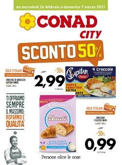Catalogo Conad City a Napoli ( Scade domani )