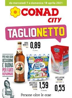 Offerte Iper Supermercati nella volantino di Conad City a Trapani ( Per altri 3 giorni )