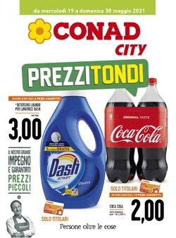 Offerte di Conad City nella volantino di Conad City ( Scaduto)