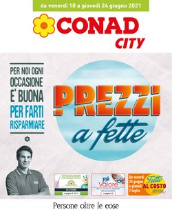 Catalogo Conad City ( Scade oggi)