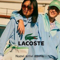 Offerte Grandi Firme nella volantino di Lacoste a Reggio Calabria ( Più di un mese )