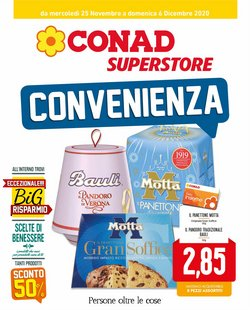 Catalogo Conad Superstore a Latina ( Per altri 4 giorni )