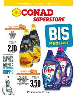 Offerte Iper Supermercati nella volantino di Conad Superstore a Giugliano in Campania ( Per altri 6 giorni )