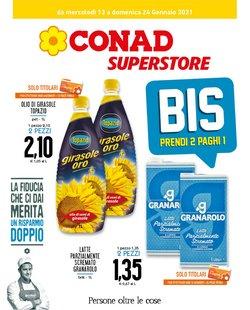 Offerte Iper Supermercati nella volantino di Conad Superstore a Perugia ( Per altri 5 giorni )