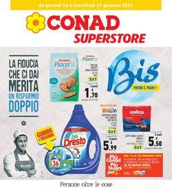 Catalogo Conad Superstore a Prato ( Scade domani )