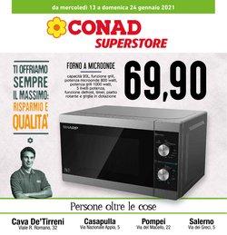 Offerte Iper Supermercati nella volantino di Conad Superstore a Caserta ( Per altri 9 giorni )
