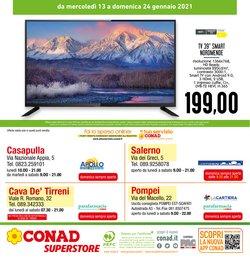 Offerte di Smart TV a Conad Superstore